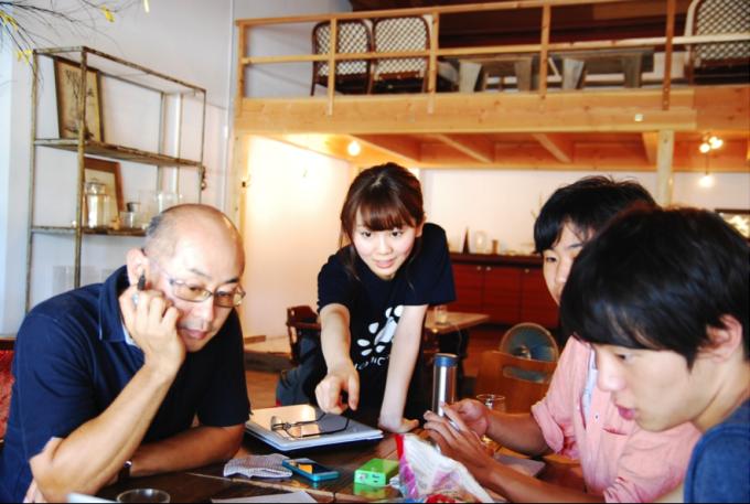 福岡・糸島でのワークショップの模様(提供:福岡移住計画)