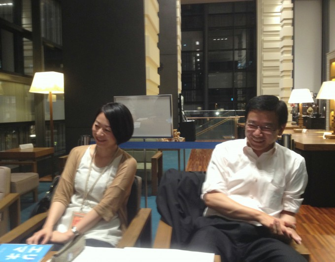 左:資産営業事業本部の松本久美さん 右:資産営業事業本部の永塚武さん
