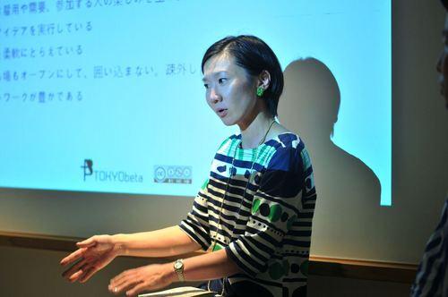 「今村さんや宮浦さんにお会いして、人間にもイノベーションが起きてきているんだなと実感しました」と宇野津さん